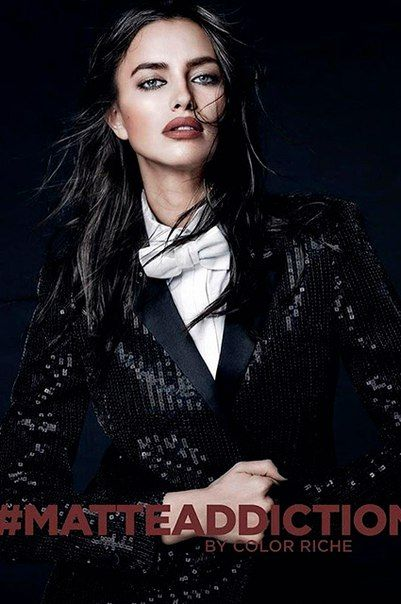 Ирина Шейк в рекламе новой помады L`Oreal Paris.