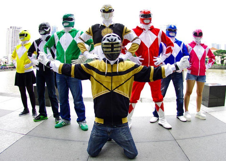 Power Ranger Hoodie Clothes Stores