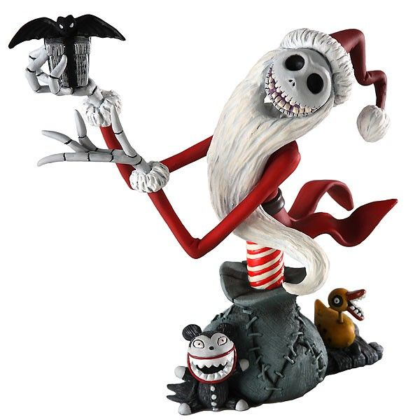 Nightmare Before Christmas - Santa Jack Skellington - Bust - Grand Jester Studios - World-Wide-Art.com - #nightmarebeforechristmas #halloween #disney #timburton #grandjesterstudios