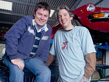 he also like these guys from Wheeler Dealers, says that at least they work on more affordable cars...