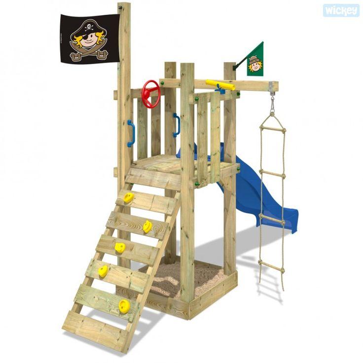 Kletterturm für Kinder, Spielgeräte für den Garten  620350_k