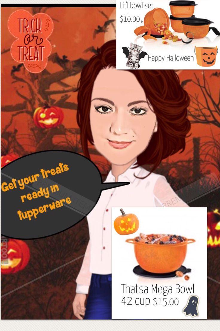 Orange thatsa bowl 42 cup Special 15.00 #tupperware #halloween