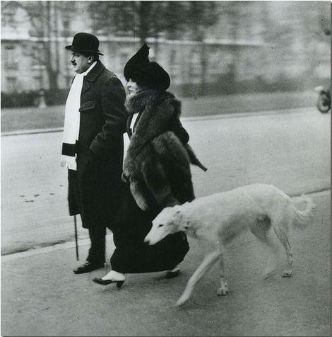 Jacques Henri Lartigue, Fevrier, Paris, Avenue du Bois du Boulogne, le Matin, 1912. on ArtStack #jacques-henri-lartigue #art