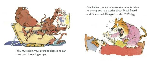 "Ultimate Guide to Grandmas and Grandpas! ""Instruction manual"" for children on the care of grandparents by Sally Lloyd-Jones, illustrated by Michael Emberley"