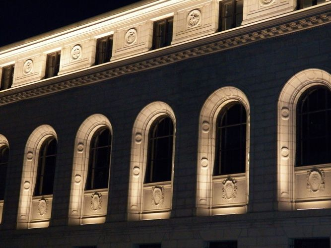 Nightcap - the Lighting of Central Library | Photo Gallery | St. Louis Public Library Foundation