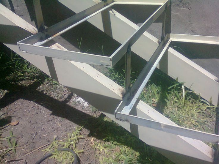 M s de 1000 ideas sobre escalera de hierro en pinterest for Grada escalera