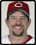 Sean Casey when he was with the Reds - Skyline Chili