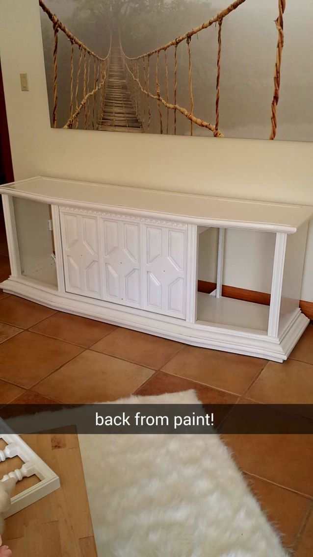 DIY, record player, stereo console, vintage, RCA, refinished furniture
