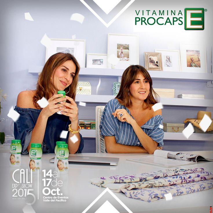 Adriana Arboleda y Johanna Ortíz te invitan a la Pasarela Vitamina E Procaps by PinkFilosofy, el viernes 16 de de octubre a las 5:00 p.m en el Centro de Eventos Valle del Pacífico.
