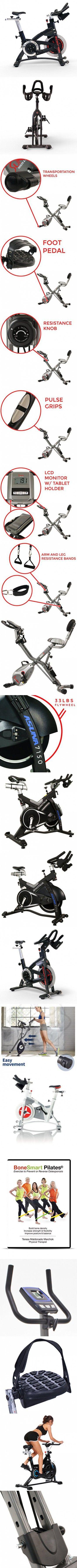 Schwinn AC Performance Plus Indoor Bike with Carbon Blue Belt Drive and Morse Taper - Quantum Silver