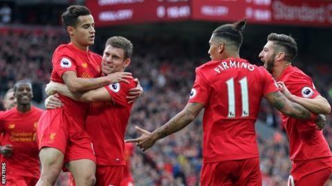 Liverpool 5-1 Hull City - BBC Sport