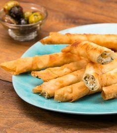 Knusprig frittiert: Zigarren-Käse-Börek