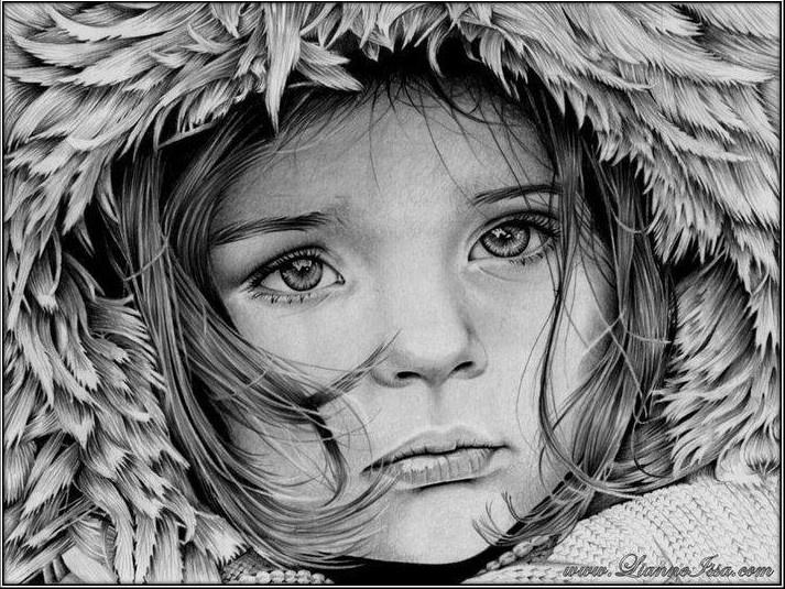 Little girl winter by lianne issa on devian art