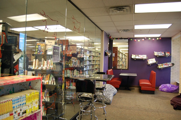 Public library teen spot teen #7
