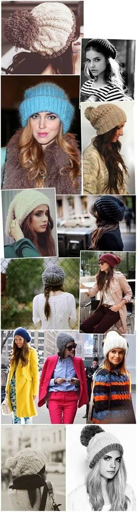 Hummm, e quem não gosta de um gorro fashion para aquecer a nossa mente no inverno?!