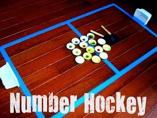 number hockey  verder op de site toddler approved heel veel interessante activiteiten die ook leerzaam zijn