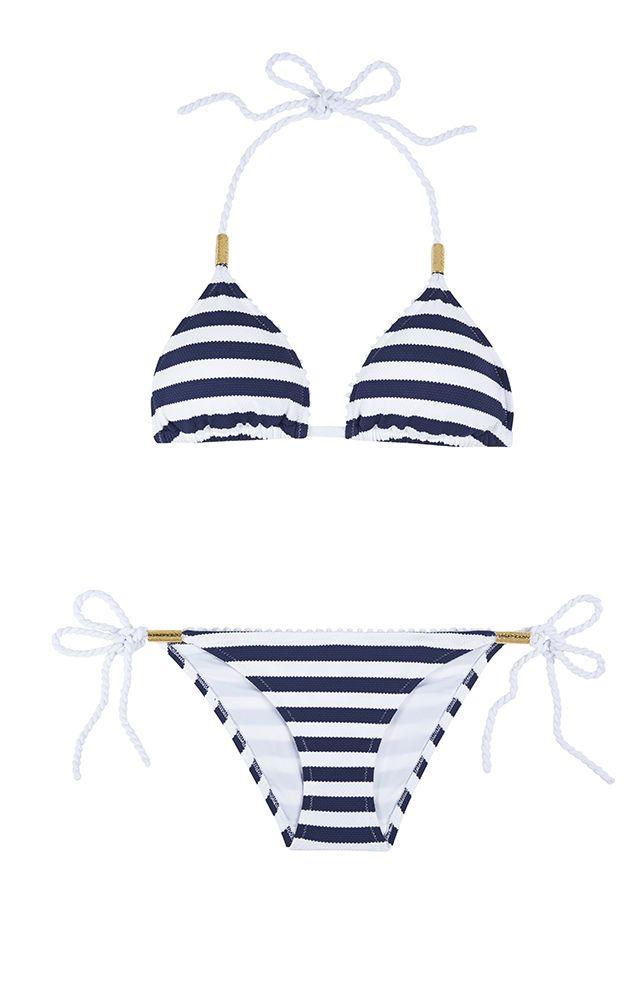 Heidi Klein Palermo Rope Padded Triangle Bikini