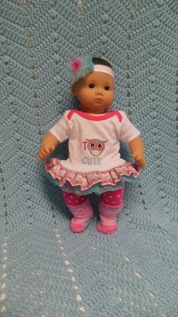 american girl bitty baby clothes too cute 15 inch doll outfit