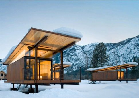 mobile shedMobiles Home, Cozy Winter, Ships Container, Guest House, Modern Cabin, Small House, Covers Decks, Logs Cabin, Rolls Huts