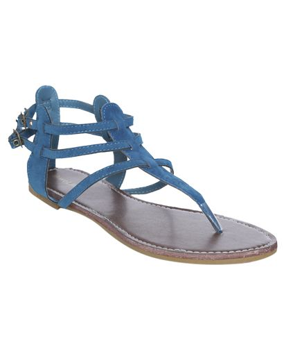 Faux Suede Gladitor Sandal #WetSeal