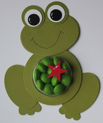 Frog using Sweet Treat Cup
