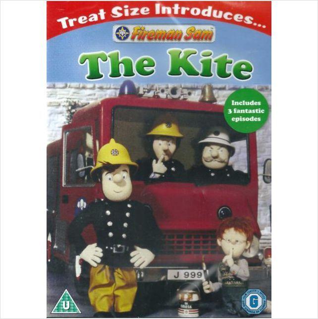 FIREMAN SAM THE KITE DVD INCLUDES 3 FANTASTIC EPISODES BRAND NEW SEALED £2.99+FREE POSTAGE