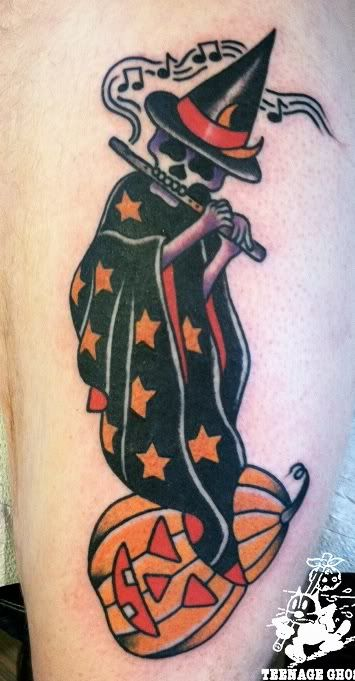 halloween tattoo flash - Google Search
