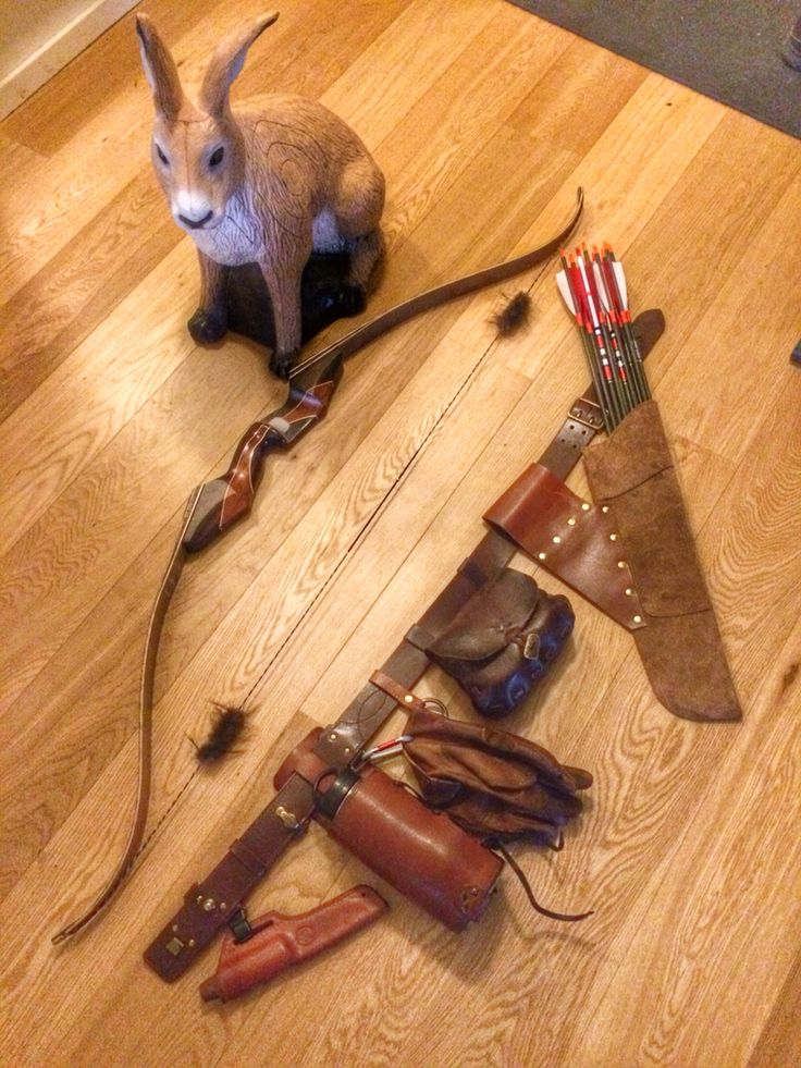 Bushcraft belt for the archer