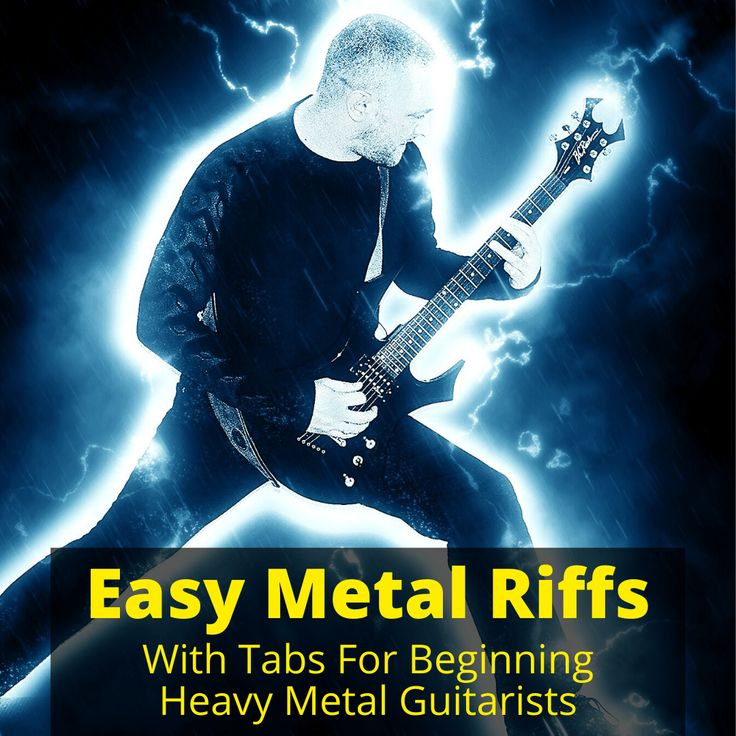 Easy Metal Riffs Tabs For Beginning Heavy Metal Guitarists Musicaroo Riffs Metal Songs Heavy Metal