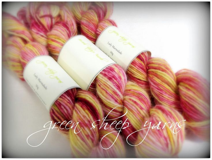Excited to share the latest addition to my #etsy shop: Lady Marmalade * Wool/ Hand dyed/ Reclaimed yarn/ Recycled yarn (50g/ 126yds) * Laine/ Teint a la main/ Recyclée #supplies #yellow #pink #wool #yarn #etsyshop #loveknitting http://etsy.me/2BeYbuz