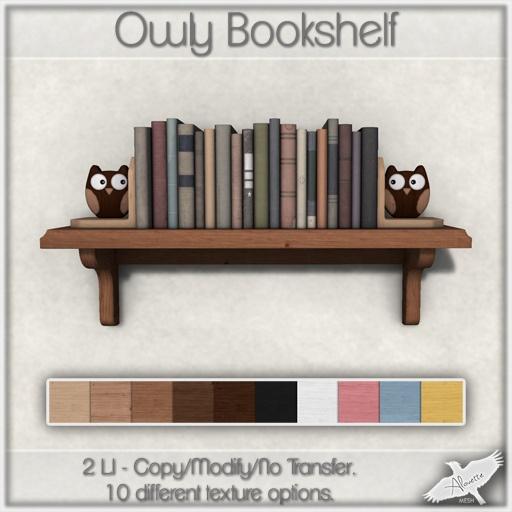 Alouette - Owly Bookshelf (AD) | Flickr - Photo Sharing!