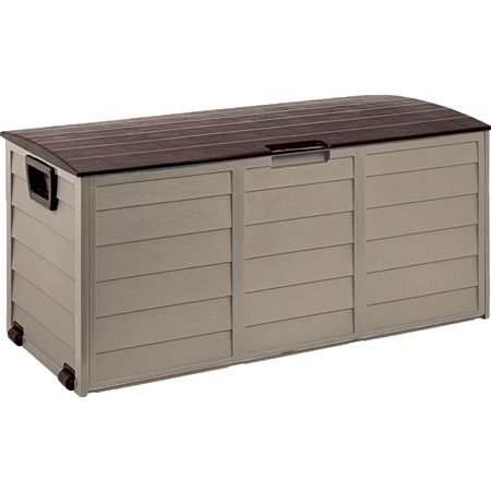 Foldable Garden Storage Box Mocha, Warehouse $99