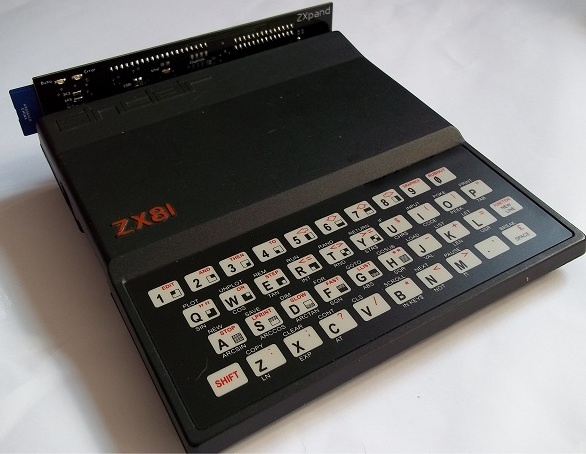 Sinclair ZX81 and ZXpand Interface