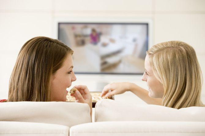Timp mediu petrecut zilnic in fata televizorului