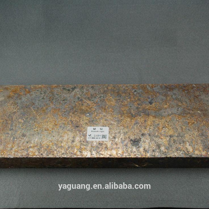 Bismuth Crystal High Pure Bi 99.99% Bismuth Metal Ingot