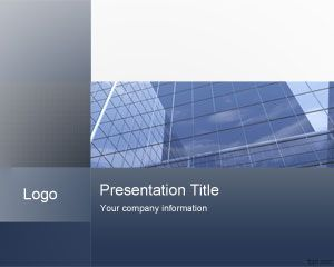 Professional Blue Corporate Office PowerPoint Template is a free PPT template background for Microsoft PowerPoint presentations