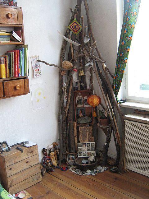 an ancestor shrine