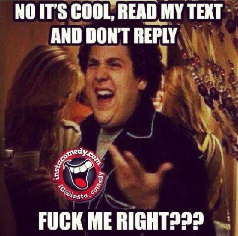 No Text Back ?