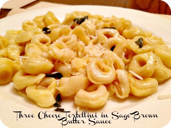 Celebrate World Pasta Day With This Tasty Three Cheese Tortellini ...