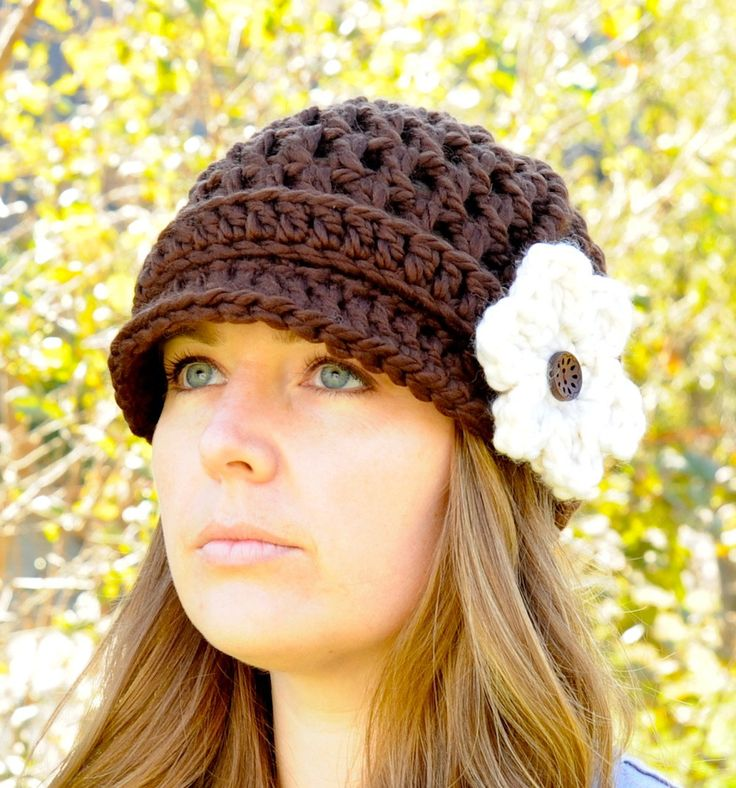 121 best Newsboy Hat Crochet images on Pinterest | Zeitungsjungen ...