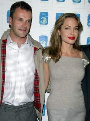 Jonny Lee Miller of Elementary and ex-wife Angelina Jolie http://britsunited.blogspot.com/2013/04/jonny-lee-miller-im-very-protective-of.html