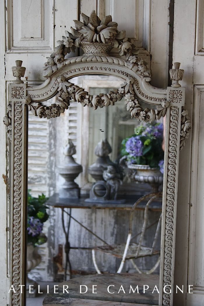 1000 ideas about french mirror on pinterest mirrors for Mirror 45 x 60