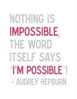 Positive #AudreyHepburn