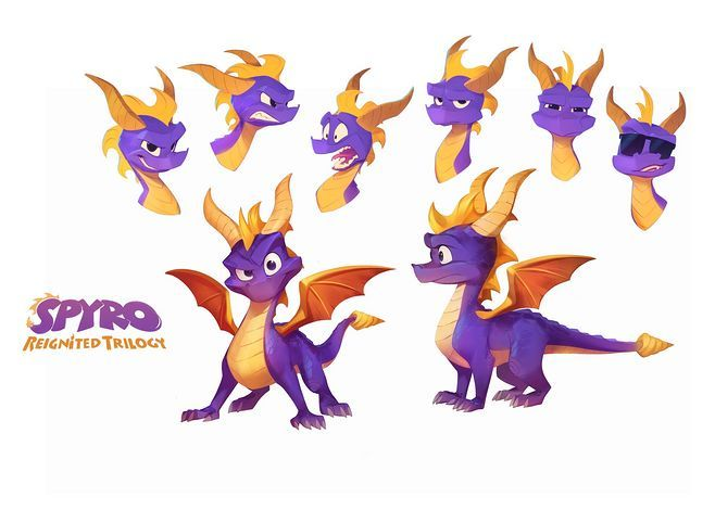Pin By Unity越 On Cartoon In 2020 Spyro The Dragon Spyro Characters Character Design