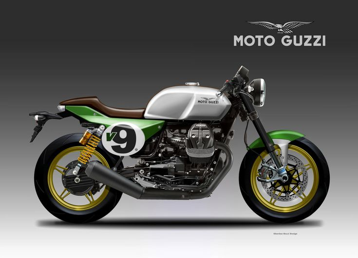 Motosketches: MOTO GUZZI V9 ITALIAN RACER