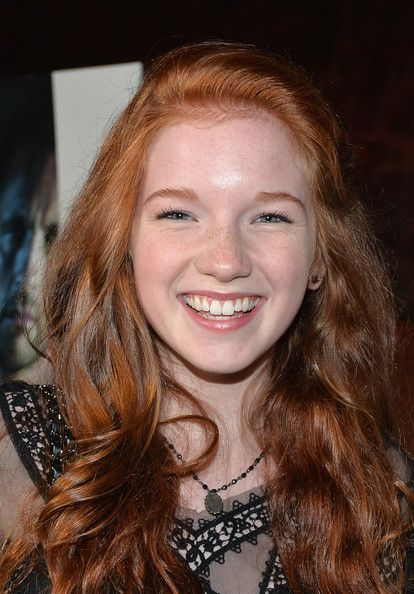 24 best ANNALISE BASSO images on Pinterest | Red heads ...