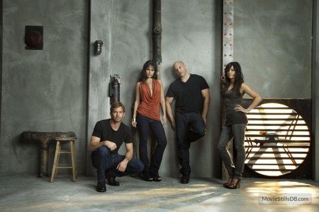 Fast & Furious - Promo shot of Vin Diesel, Paul Walker, Michelle Rodriguez & Jordana Brewster