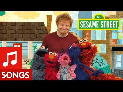 """Ed Sheeran Performed A Completely Adorable Song On """"Sesame Street"""""""