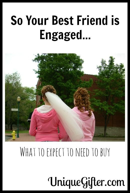 So Your Best Friend is Engaged? Here's what I'll need to save up to buy.  Definintely pinning this for later!