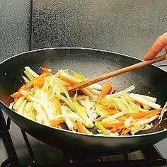 Tecniche di cottura con il wok